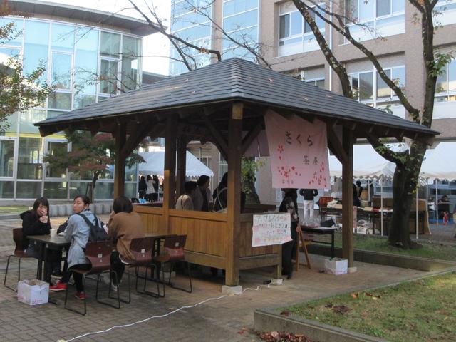 山梨県立大学学園祭 富桜祭 模擬店