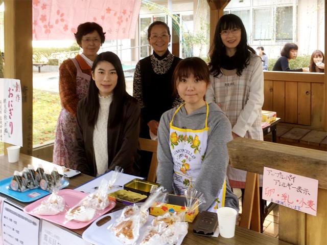 富桜祭 山梨県立大学 学園祭 さくら茶屋