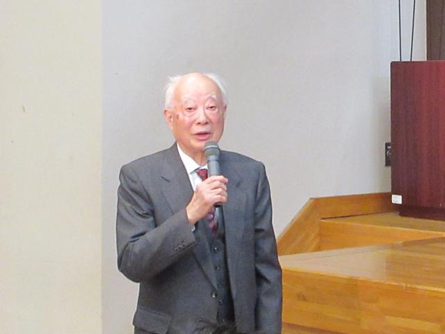 鶴見先生最終講義